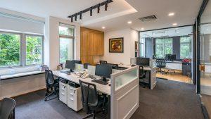 Thiết kế thi công nội thất văn phòng - Office interior design -DiLinh