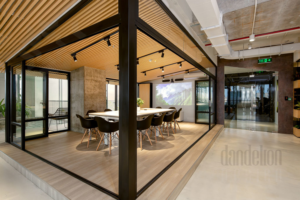 Conference room Bespokify Fashion-tech office in Danang by Dandelion Design 28