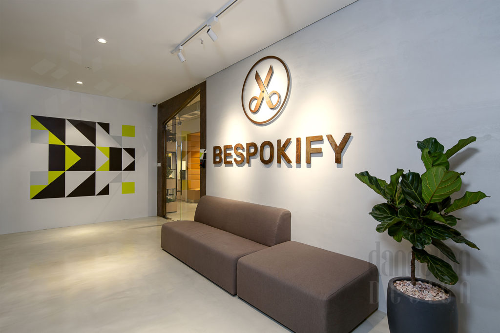 logo Bespokify Fashion-tech office in Danang by Dandelion Design 9